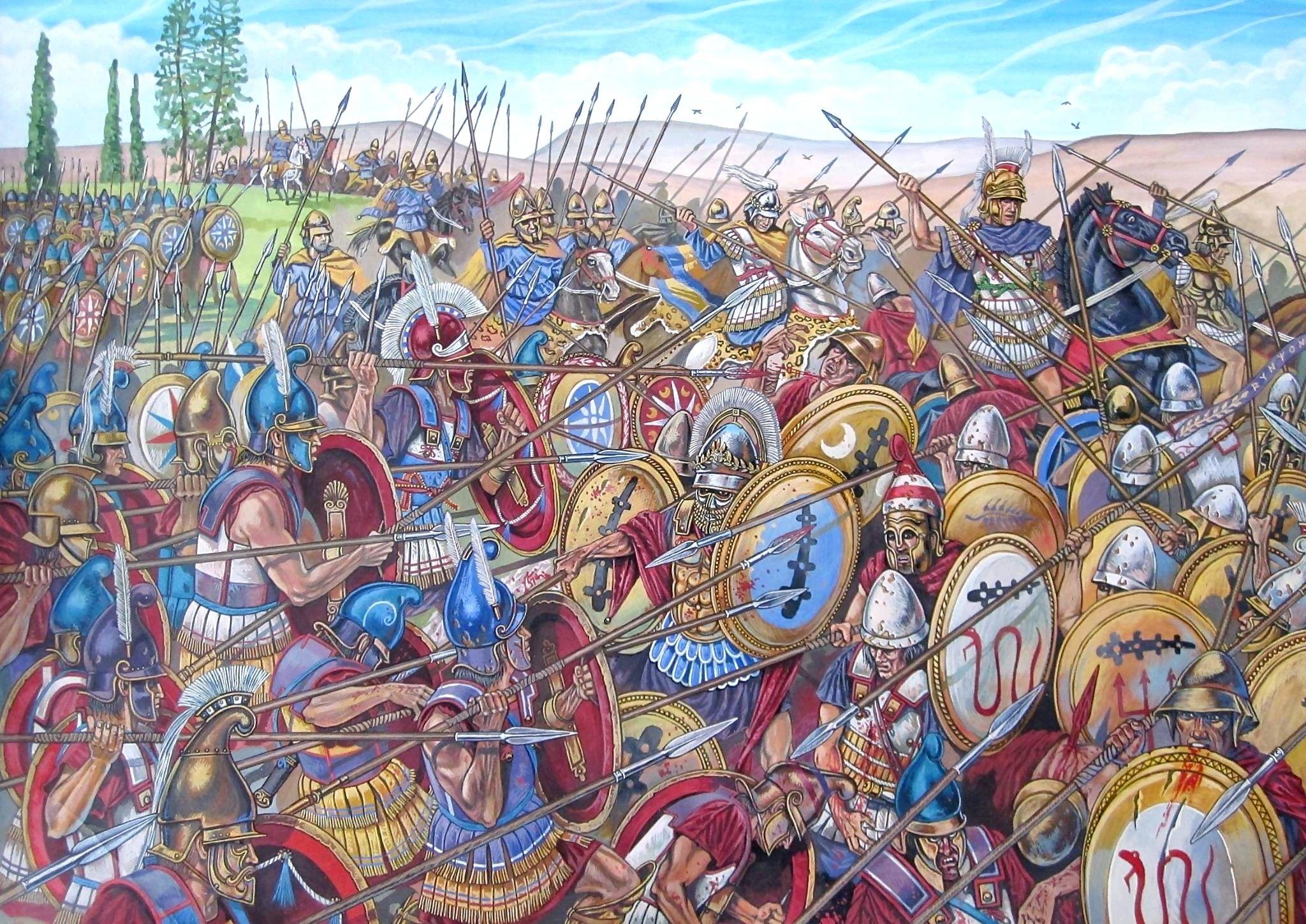 Сблъсъкът на титаните: Тиванския Свещен Отряд срещу македонските ...