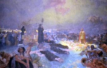 After the Battle of Vitkov Hill, Alfons Mucha's Slav Epic, 1923