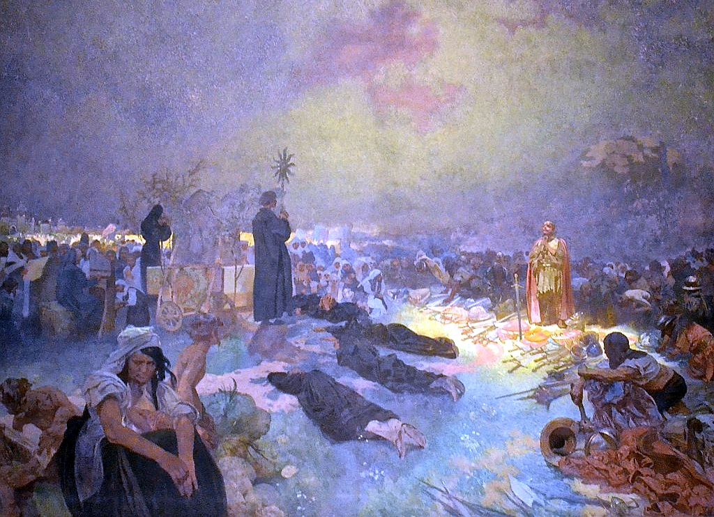 After the Battle of Vitkov Hill, Alfons Mucha's Slav Epic, 1923