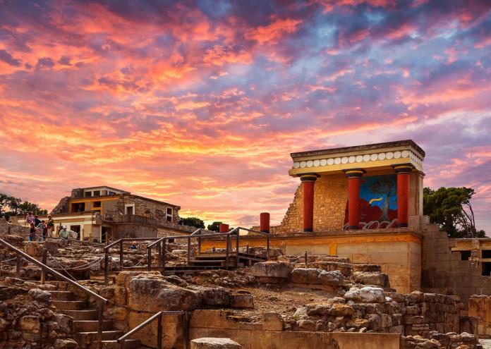 Дворецът в Кносос