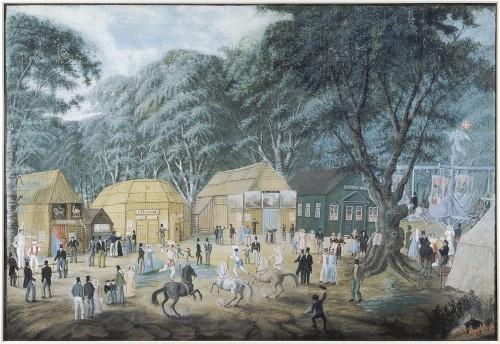 Dyrehavsbakken,_c._1825