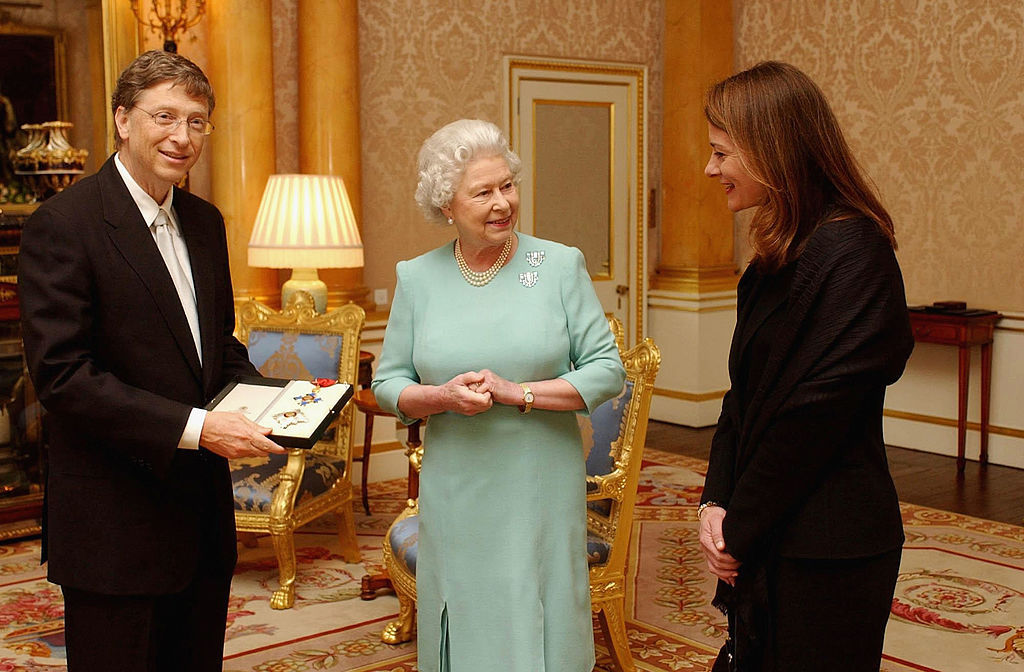 Microsoft Chairman Bill Gates Receives Honorary Knighthood