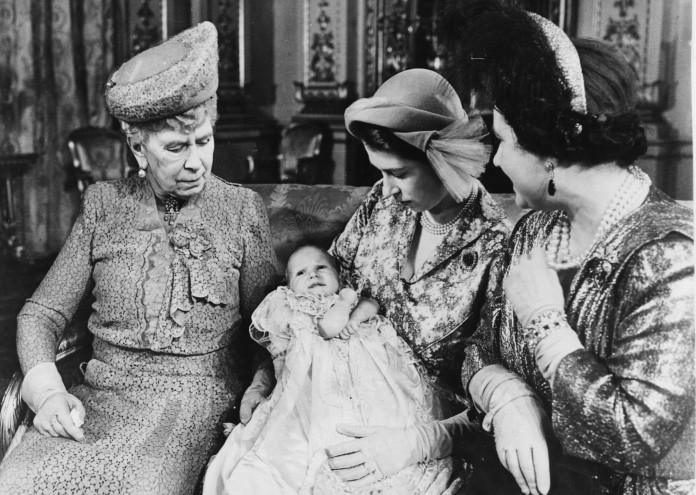 Princess Elizabeth, Queen Mary, Queen Elizabeth And Princess Anne