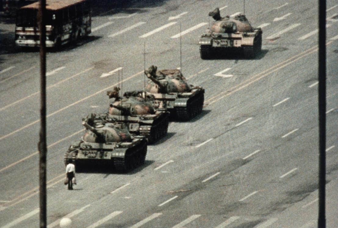 мъжът пред танковете, tank man