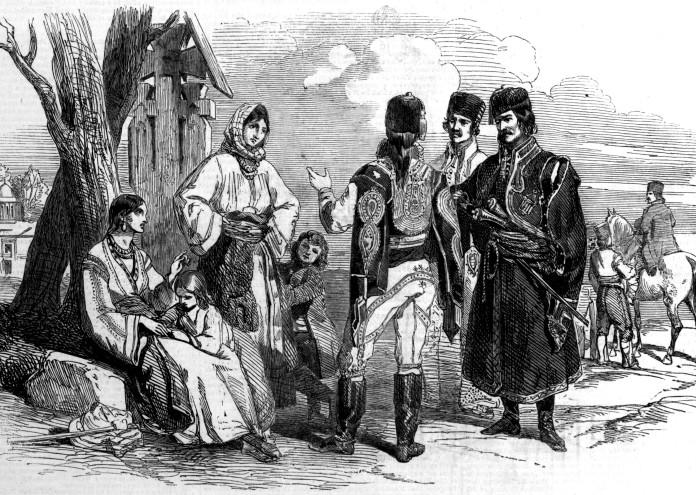 1853 - влашки селяни и войници