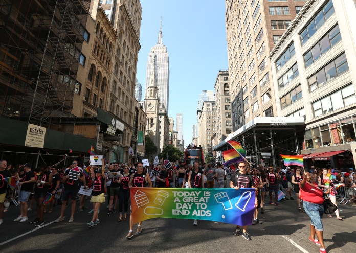 Housing Works Joins the 2016 LGBT Pride March
