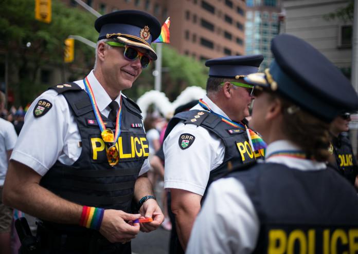 Annual Gay Pride Parade Held In Toronto