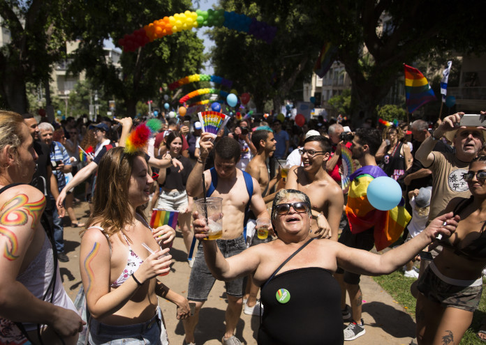 Israel's Gay Community Holds Pride Parade In Tel Aviv