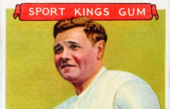 1933_Goudey_Sport_Kings_02_Babe_Ruth