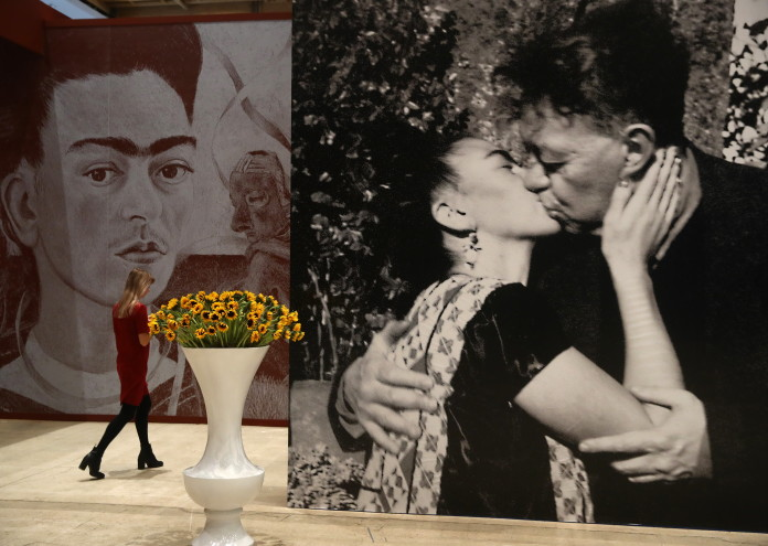 Viva La Vida. Frida Kahlo and Diego Rivera exhibition in Moscow