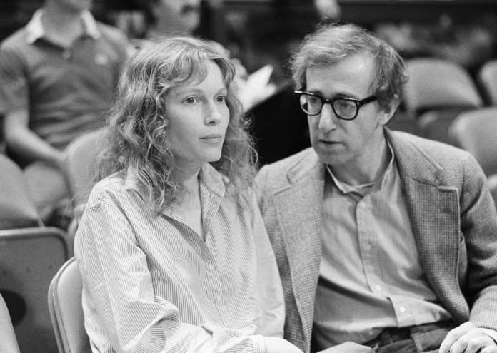 Mia Farrow & Woody Allen