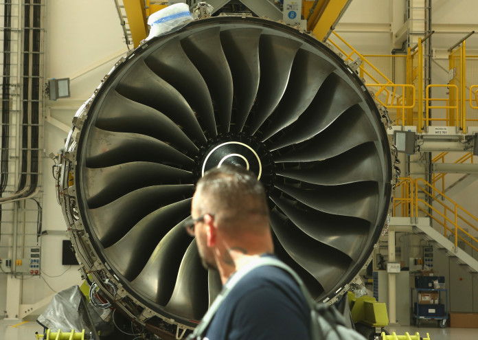 Rolls-Royce Launches New Assembly Line For A350 Engine Production