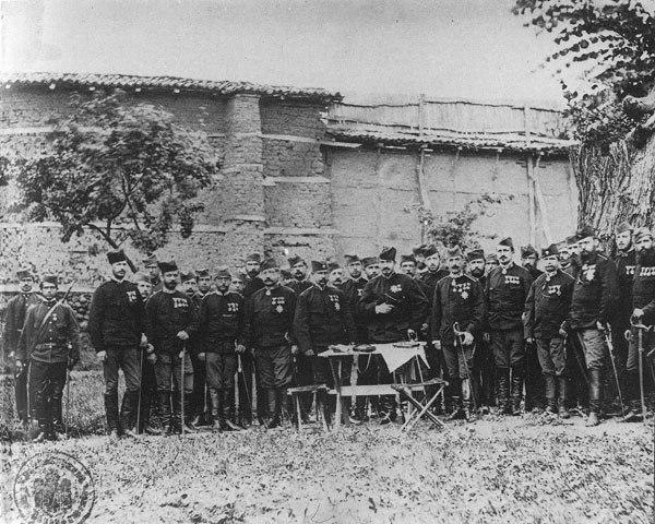 Щабът на сръбската армия