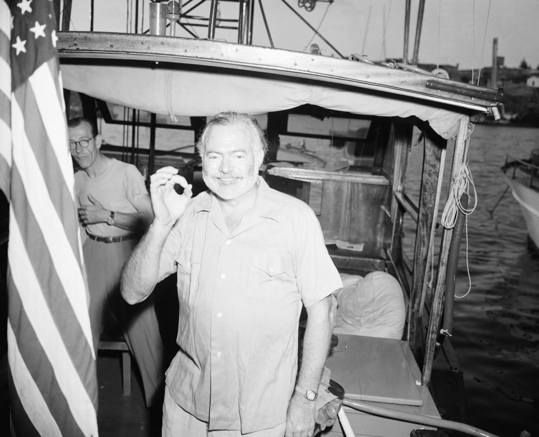 A Fishless Ernest Hemingway