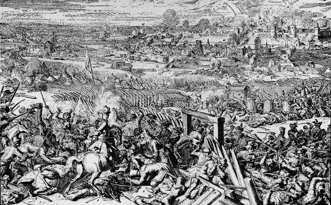 Kriegsführung in früherer Zeit : Krieg Russland-Schweden 1700