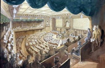 The_Imperial_Japanese_Diet,_Tokyo_-_the_House_of_Representatives_Art.IWMARTLD5841