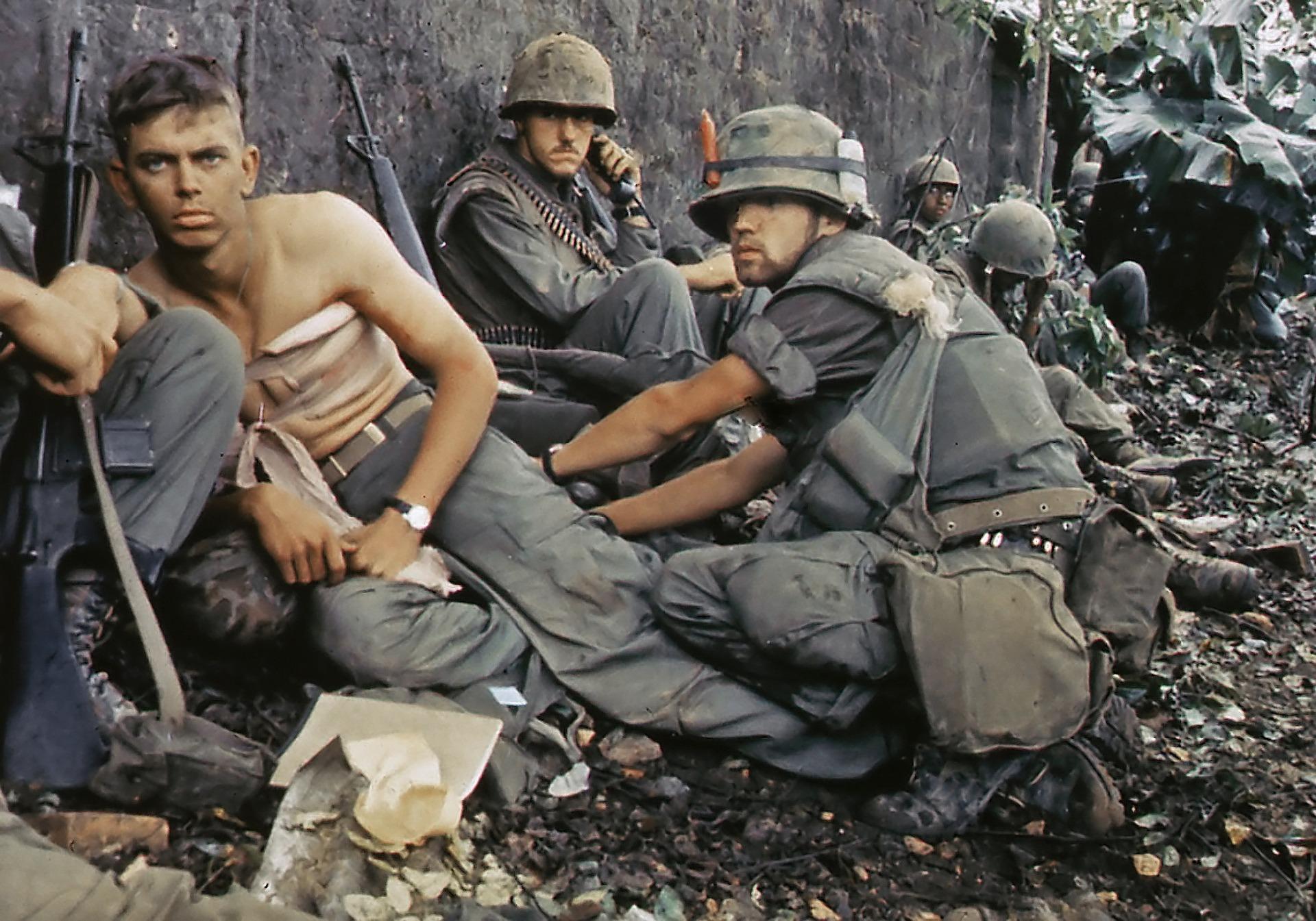 Резултат с изображение за Виетнамската война.
