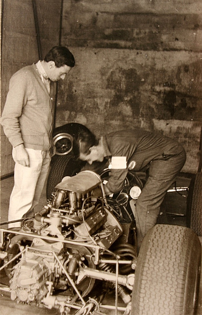 ClarkJim1965mitMechaniker