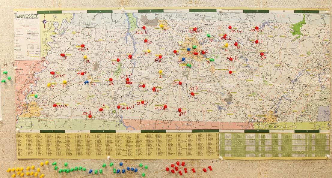 Logitistics Maps DRC Locations