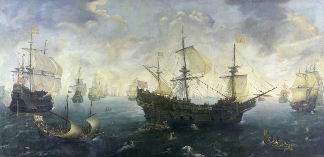 The Spanish Armada off the English coast