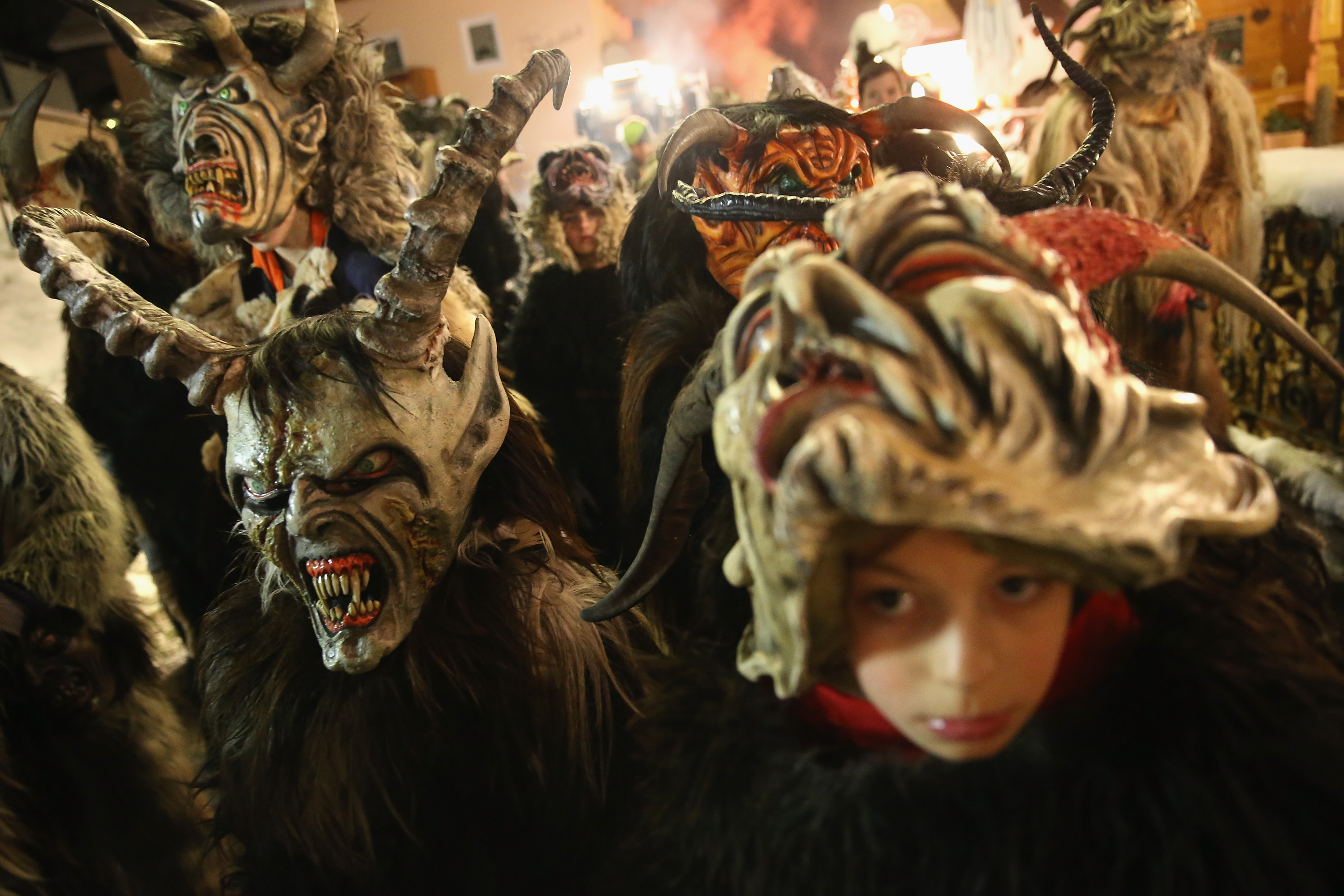 Krampus Creatures Parade In Search Of Bad Children
