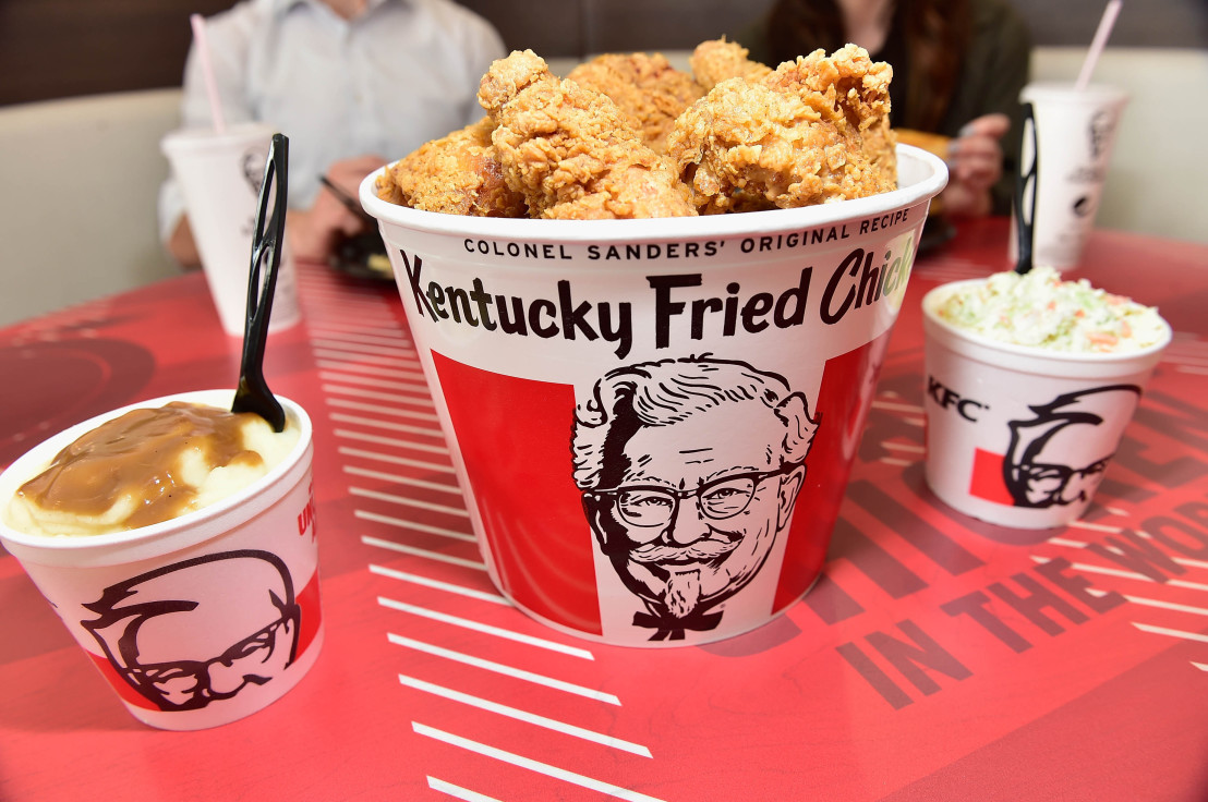 KFC Menu Items and Restaurant