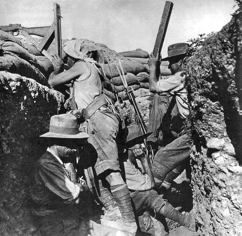 Periscope_rifle_Gallipoli_1915