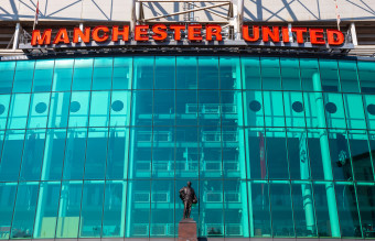Old Trafford - the home ground of Manchester United