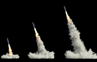 Ballistic launch rocket