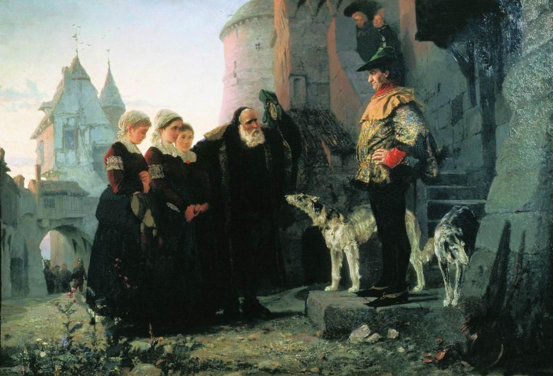 Le_droit_du_Seigneur_by_Vasiliy_Polenov