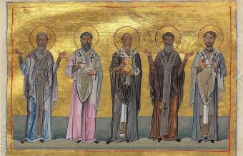 Patrobulus,_Hermas,_Linus,_Caius,_Philologus_of_70_disciples_(Menologion_of_Basil_II)