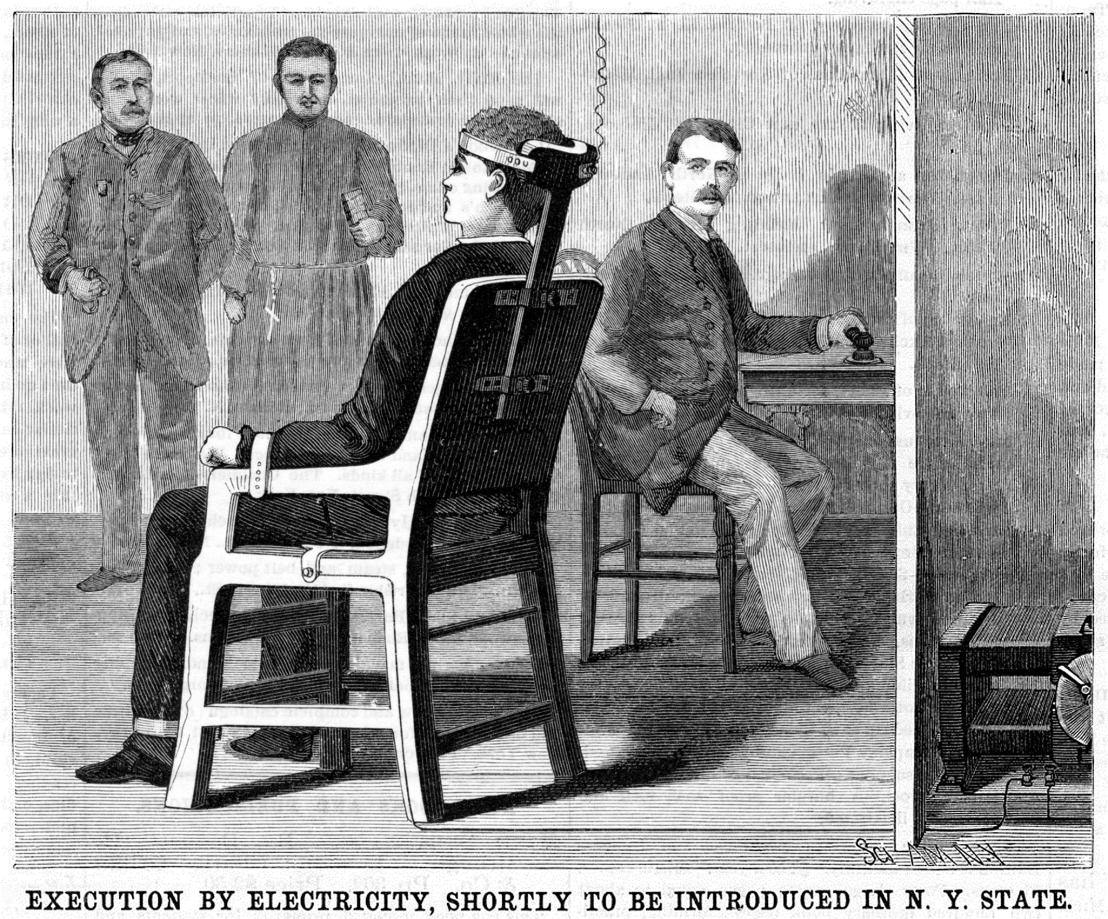 EXECUTION_BY_ELECTRICITY_electric_chair_illustration_Scientific_American_Volumes_58-59_June_30_1888