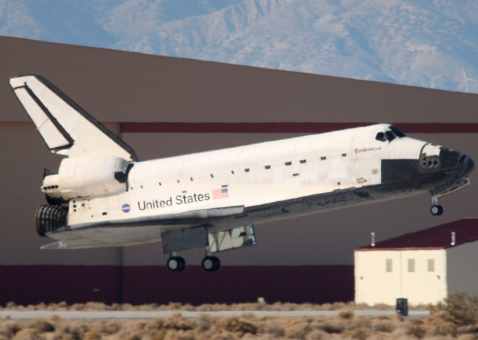 Space Shuttle Endeavour Returns To Earth After 16-Day Mission