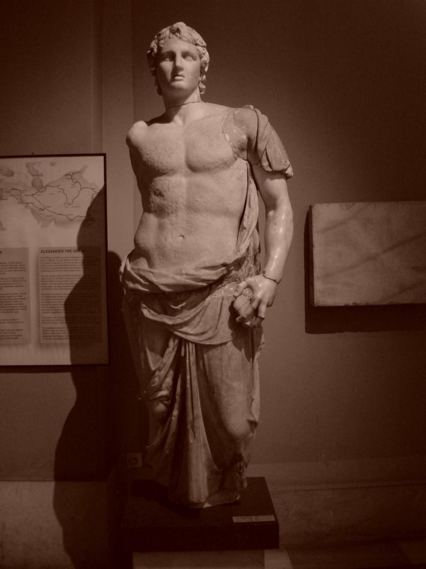 Istanbul_-_Museo_archeol._-_Alessandro_Magno_(firmata_Menas)_-_sec._III_a.C._-_da_Magnesia_-_Foto_G._Dall'Orto_28-5-2006_b-n