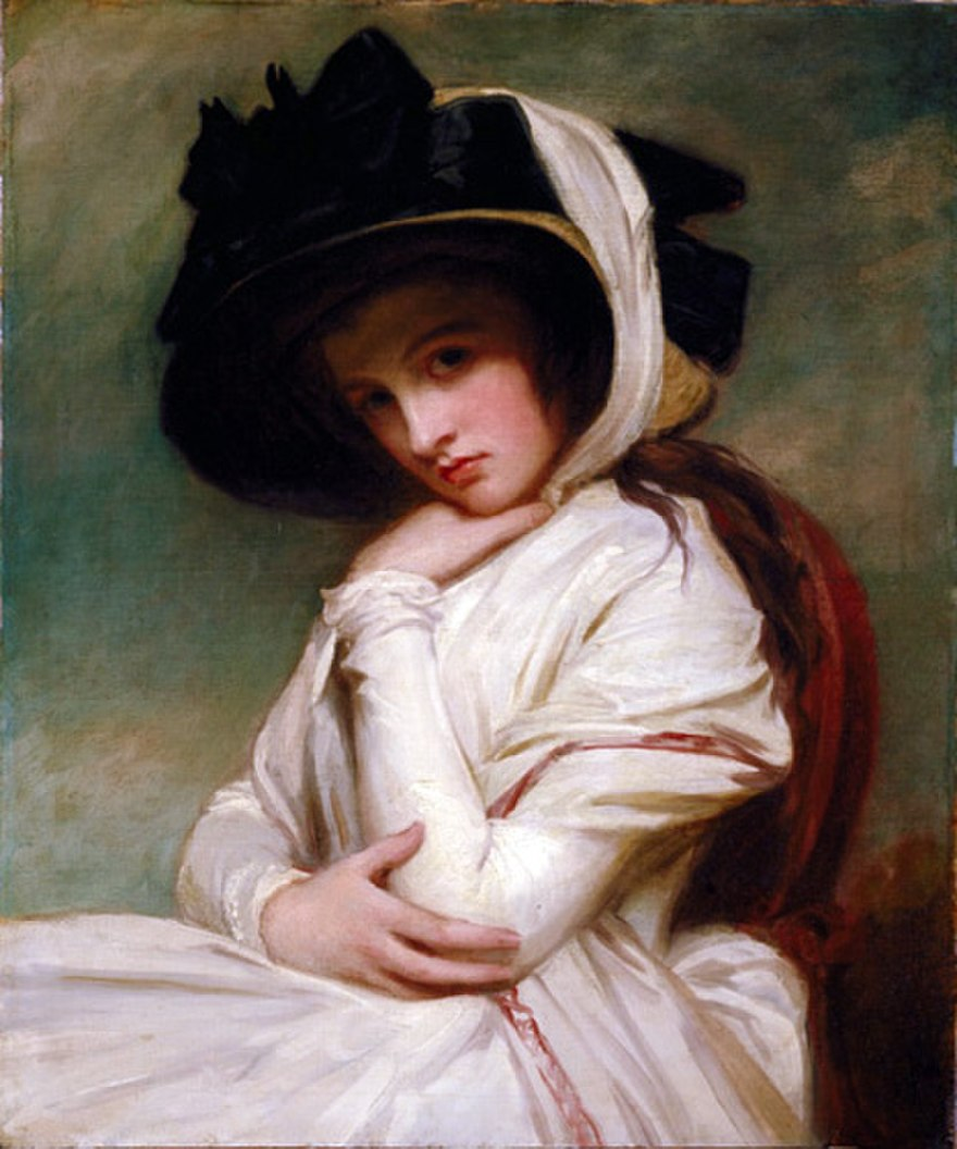 880px-George_Romney_-_Emma_Hart_in_a_Straw_Hat