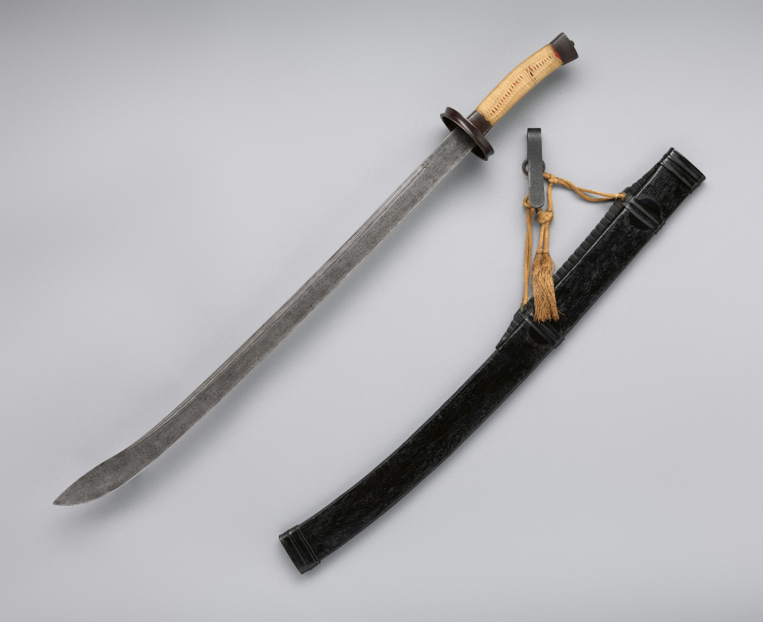 Saber_with_Scabbard_and_Belt_Hook_(清_腰刀)_MET_DP-834-001
