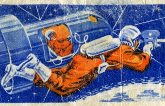 Soviet_Union-1965-Stamp-0.10._Voskhod-2._First_Spacewalk
