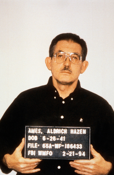 THE ALDRICH AMES AFFAIR (Photo by Jeffrey Markowitz/Sygma via Getty Images)