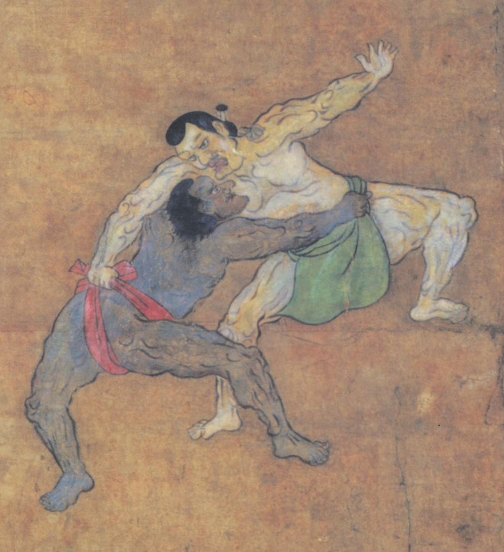 Black_sumo_wrestler_in_17th_century