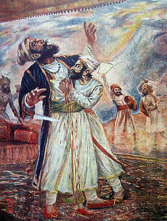 Death_of_Afzal_Khan