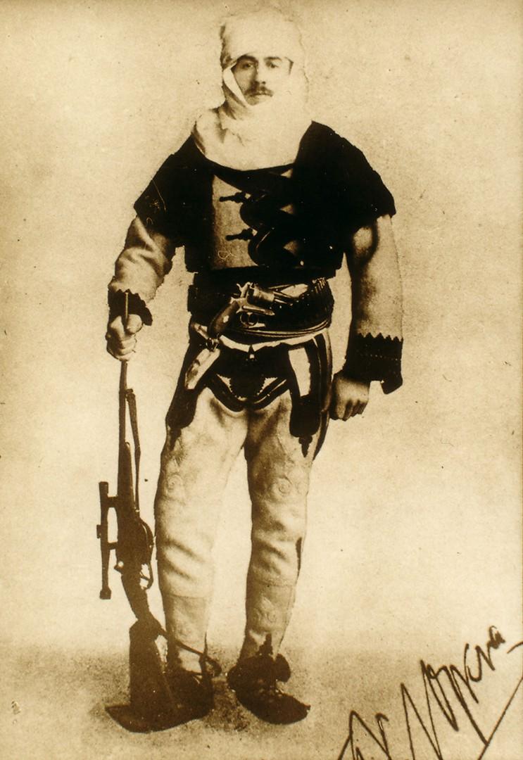 Baron_Franz_Nopcsa_in_Albanian_uniform