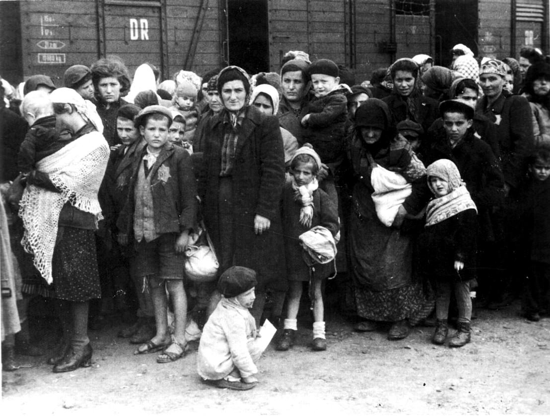 Bundesarchiv_Bild_183-N0827-318,_KZ_Auschwitz,_Ankunft_ungarischer_Juden