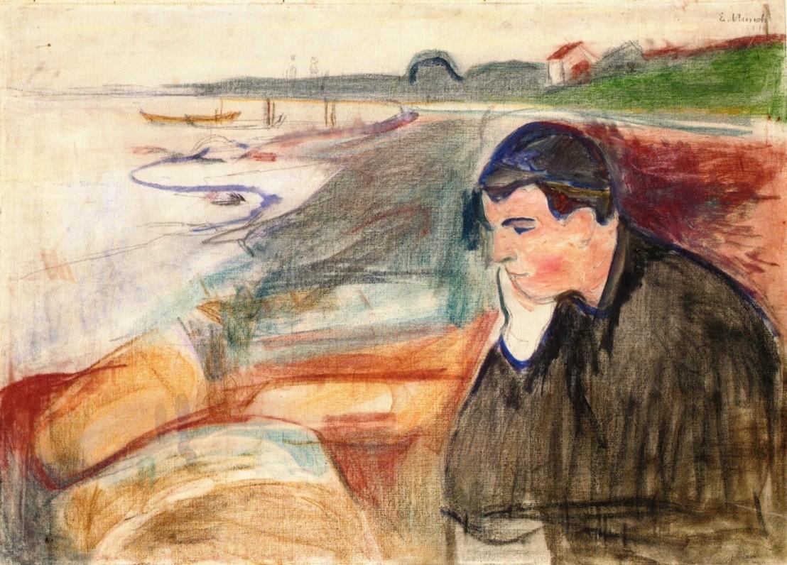 Edvard_Munch_-_Evening._Melancholy_(1891)