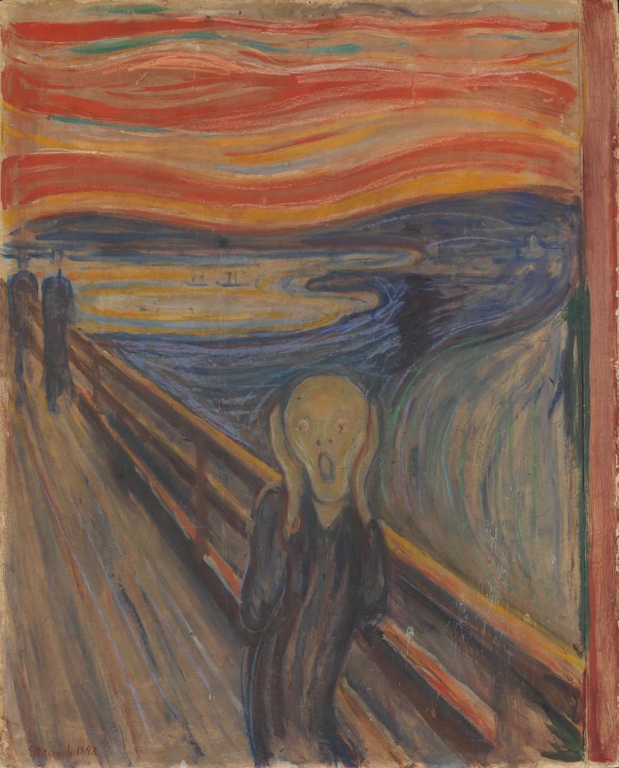 NOR Skrik, ENG The Scream