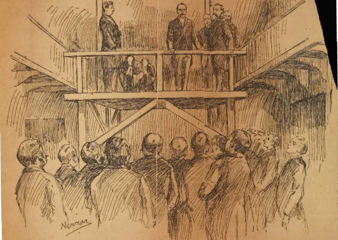 Moyamensing Prison, The Execution of H. H. Holmes (1895)