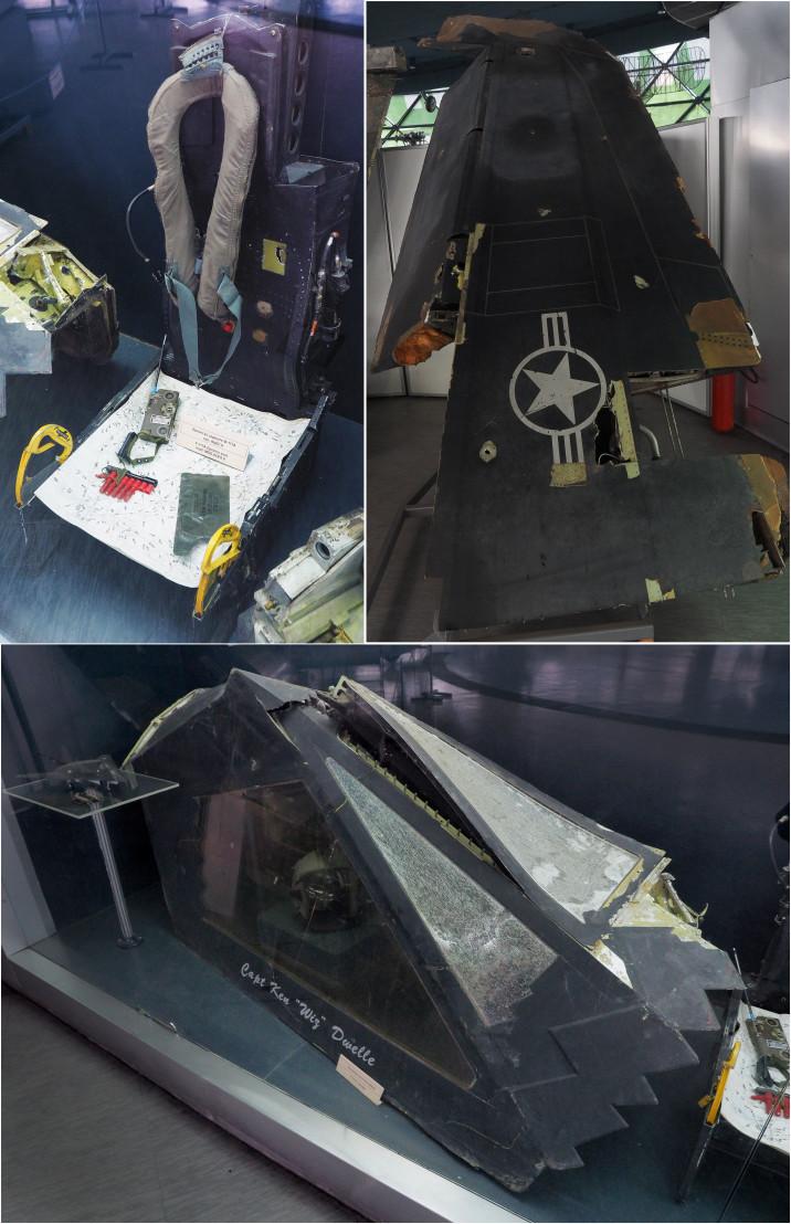 F-117 parts