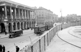 Polen, Ghetto Warschau, Ghettomauer