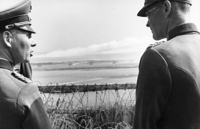 Riva-Bella, Waffenvorf¸hrung Panzerwerfer, Rommel