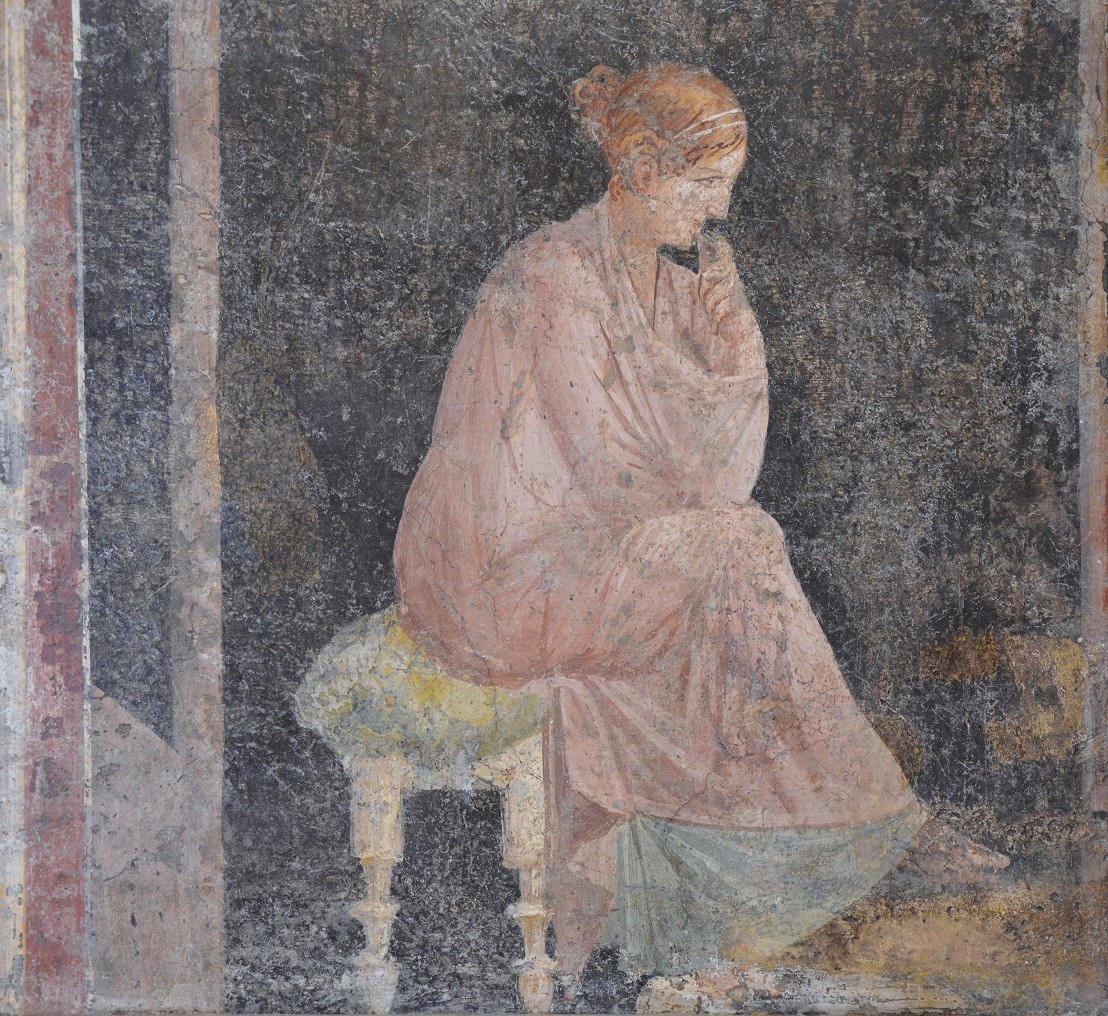 Fresco_depicting_a_seated_woman,_from_the_Villa_Arianna_at_Stabiae,_Naples_National_Archaeological_Museum_(17393152265)