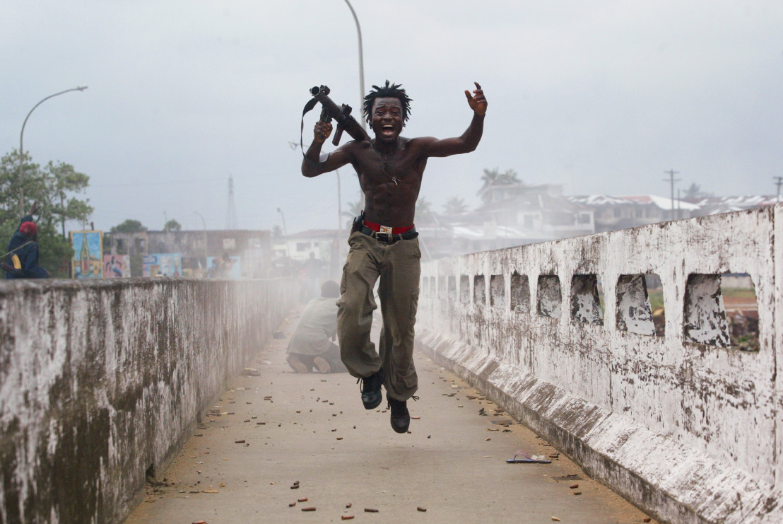 Liberian Government Troops Push Back Rebels